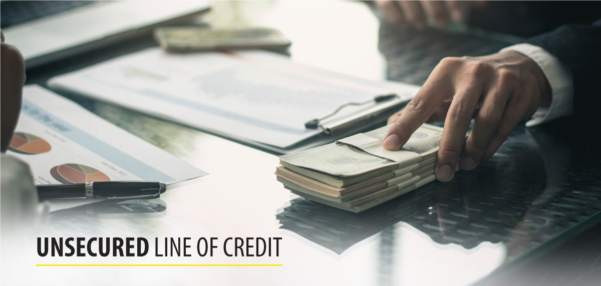 unsecured line of credit
